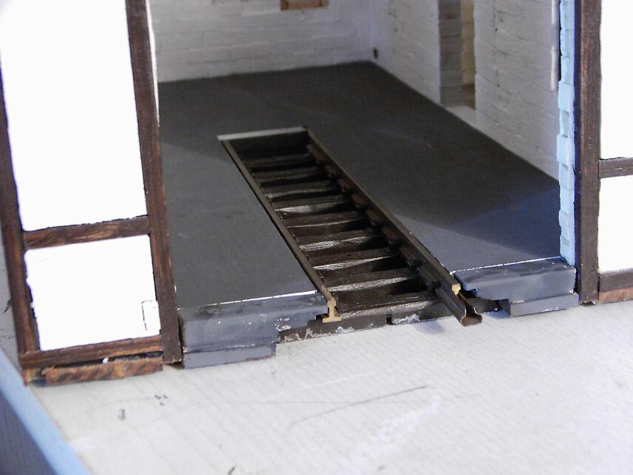 Fußboden Im Schuppen ~ Eigenbau lokschuppen meine homepage